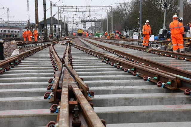 REMINDER: Vital rail upgrade works start this weekend on the Great Eastern Main Line: Colchester Essex Track Replacement Dec 19
