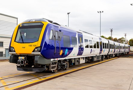Northern celebrates official unveiling of £500m new train fleet: New train -3