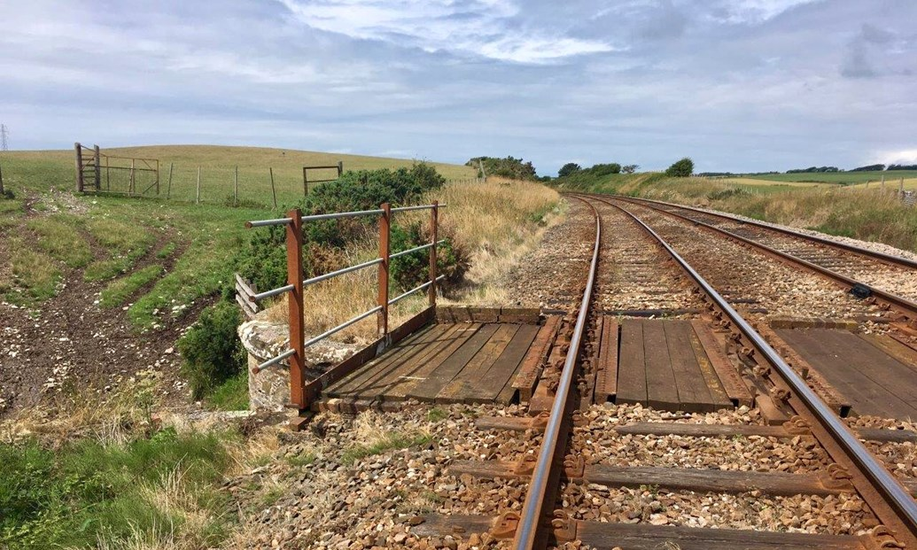 Work starts this weekend on £3m Cumbrian coast line railway upgrade: Current state of the line between Silecroft and Bootle in West Cumbria