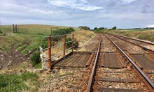 Current state of the line between Silecroft and Bootle in West Cumbria