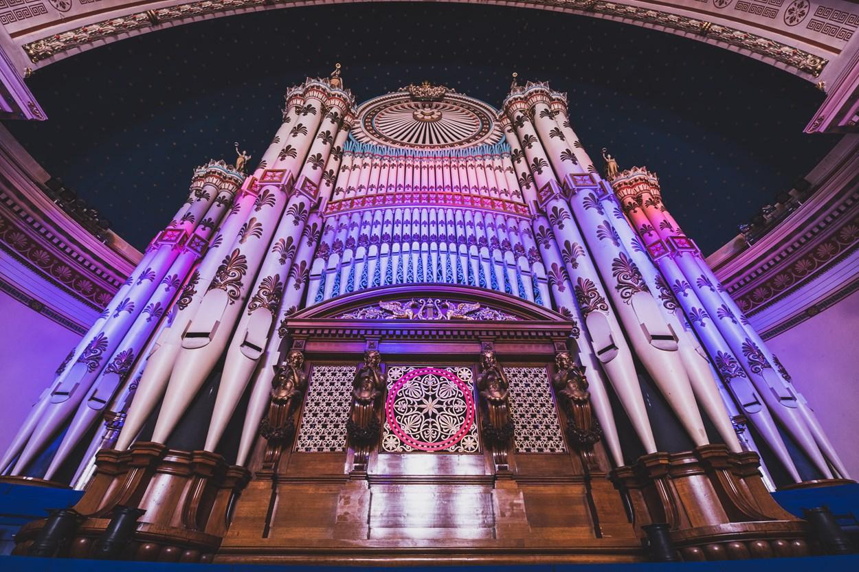 Leeds Town hall organ recital: The magnificent Leeds Town Hall organ.