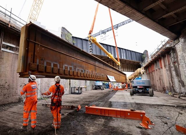 Work to reconstruct Dantzic St bridge-3