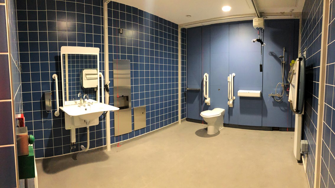 Changing Places toilet opens at London Euston station: Euston Changing places toilet