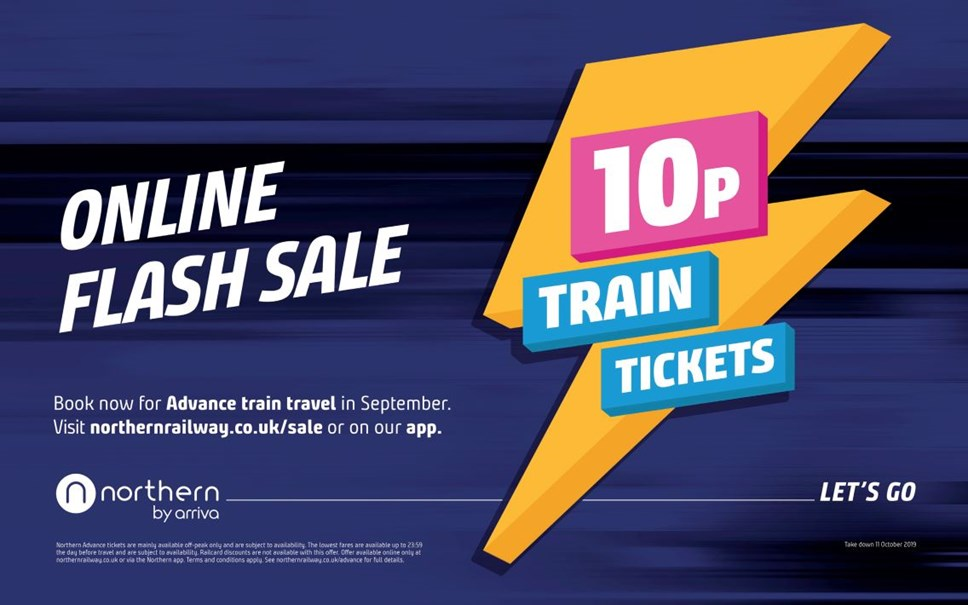 Northern's summer sale sees all tickets snapped up: 10p tickets