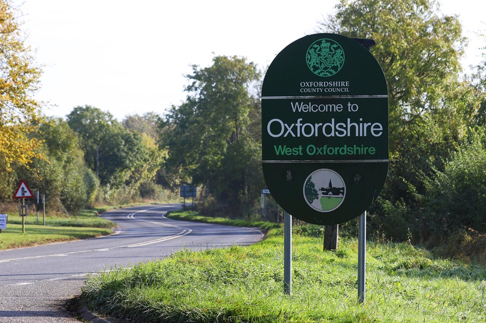 Welcome to West Oxfordshire