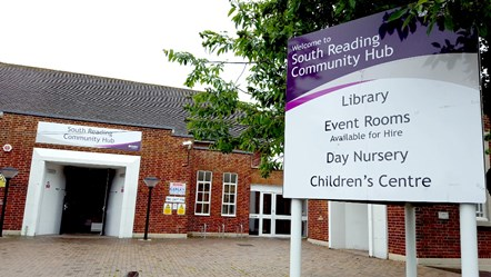 Whitley Library within the South Reading Community Hub