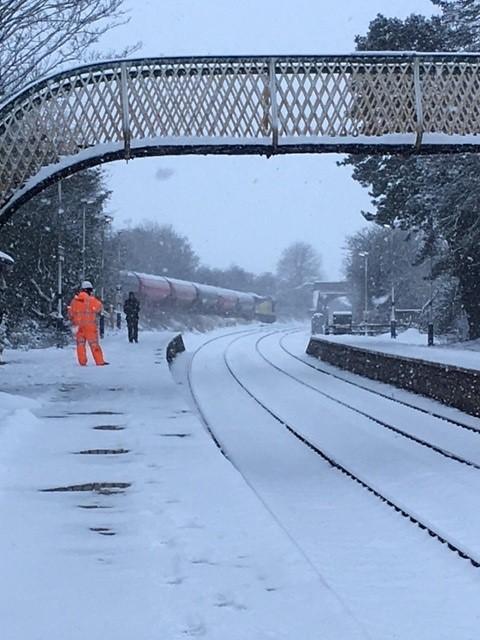 Snow at Dalston near Carlisle 1-2