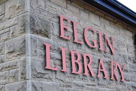 Book sale at Elgin library: Book sale at Elgin library
