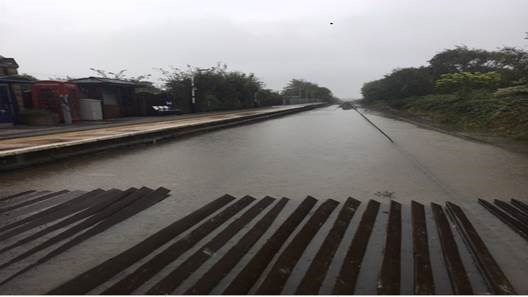 New Lane flooding
