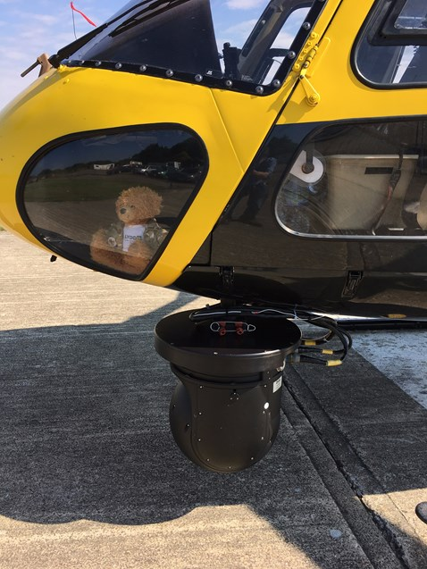 Helicopter - camera