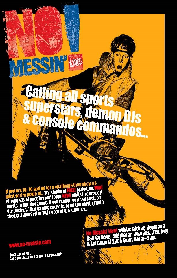 NETWORK RAIL HELPS TRAIN KIDS TO STAY OFF THE TRACKS: No Messin' Live - poster