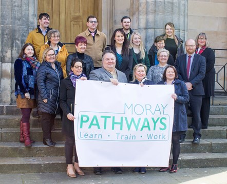 Moray Pathways brings together public, private and third sector interests: Coming together to get Moray working