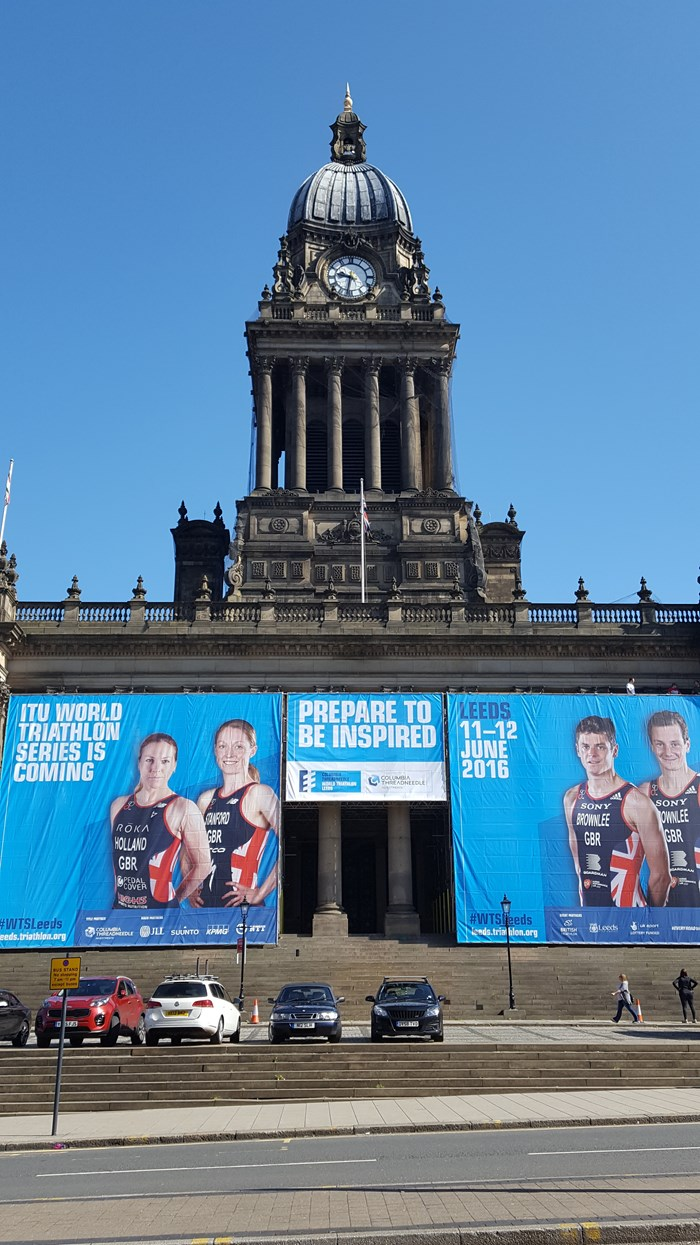Star-studded entry list shaping up for first-ever Columbia Threadneedle World Triathlon Leeds: wtsleedstownhallwrap004.jpg