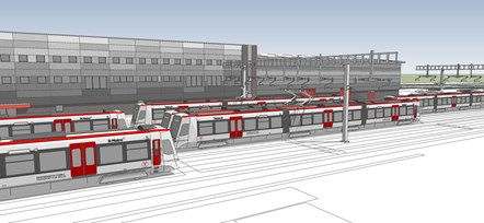 Taffs Well Depot Artist Impression 6