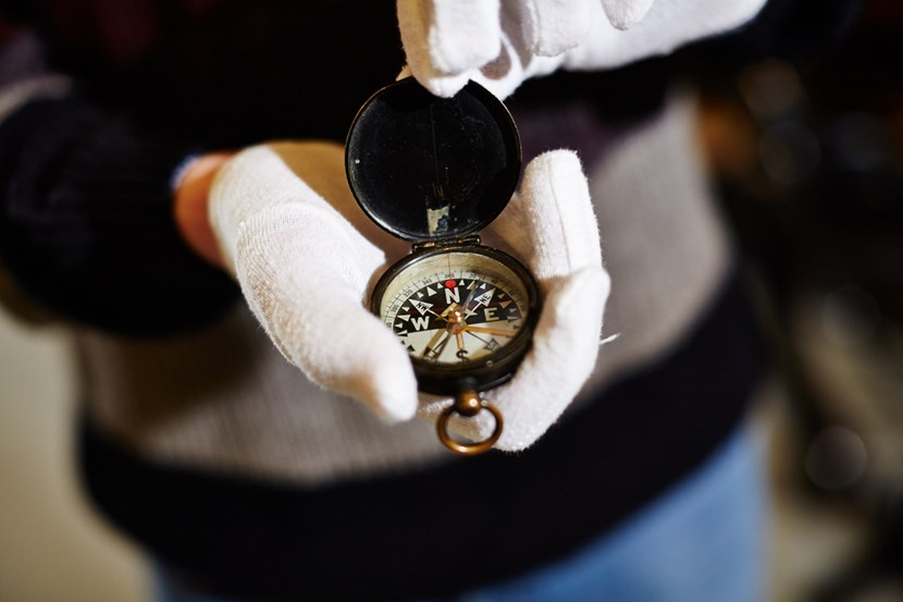 Object of the week- Tom Webb's compass: discovercentre-ww1-portraits4.jpg