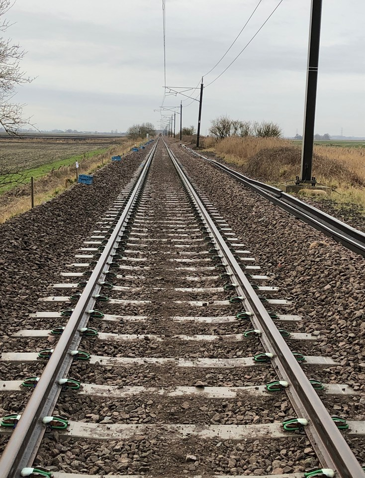 Reliability improvements between Ely and Kings Lynn following track works: Littleport - Downham Market new track