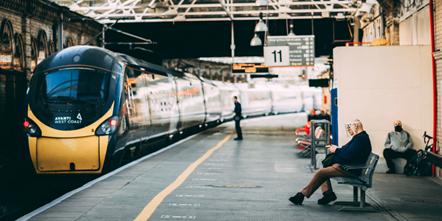 Crewe Station Photo Book Platform 11