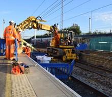 Work at Hayes   Harlington station 256446