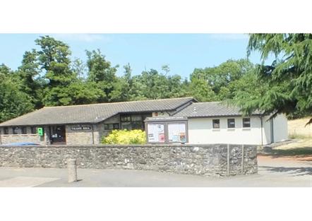Glanrwyney Village Hall in Powys
