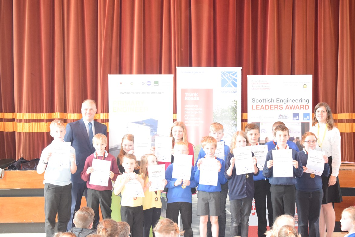 A96 Dualling East of Huntly to Aberdeen scheme - prizewinners