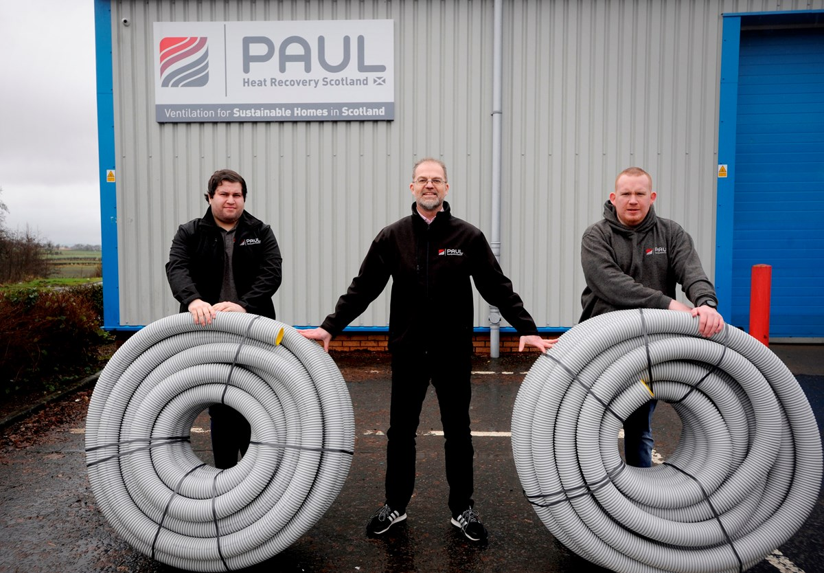 Paul Heat Recovery New Employee Trustees