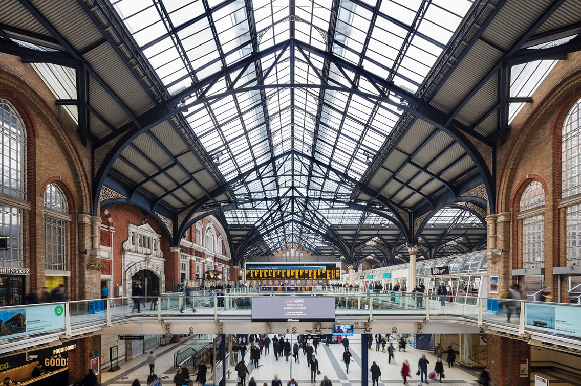 Network Rail secures £2.2bn to provide a better railway for passengers in East Anglia: London Liverpool Street station-2
