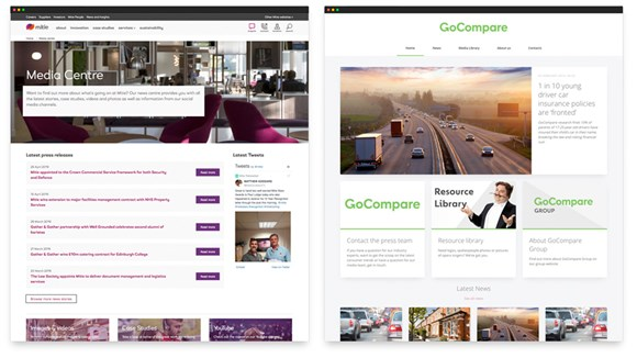 Mitie and Go Compare Newsroom