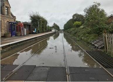 Flooding at New Lane