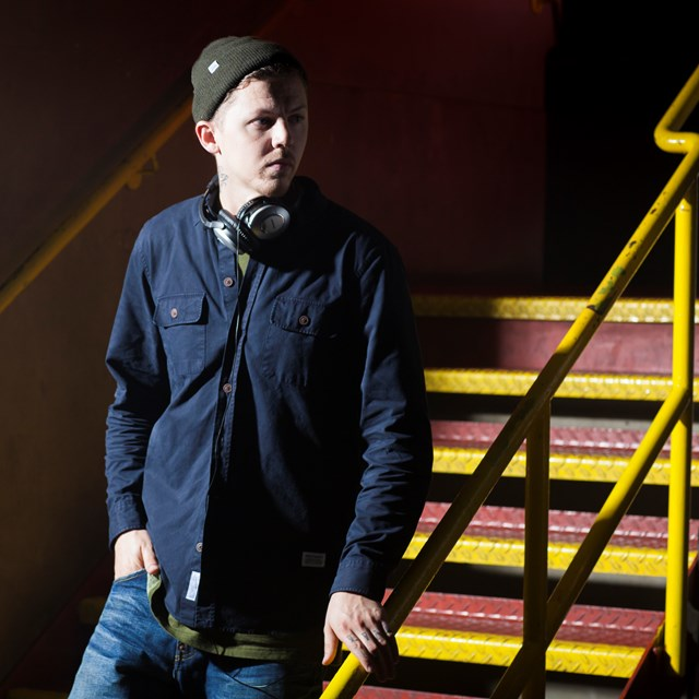 PROFESSOR GREEN: STOP LISTENING TO MY MUSIC…AT LEVEL CROSSINGS IN ANGLIA: Professor Green supports Lose Your Headphones level crossing campaign