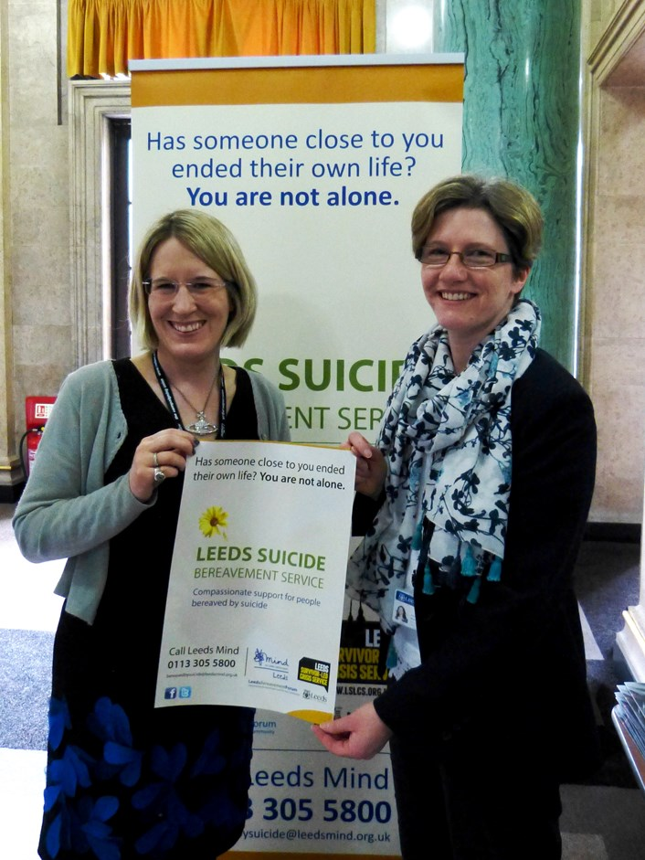 Leeds takes a lead in supporting those affected by suicide: lsbslaunch1.jpg
