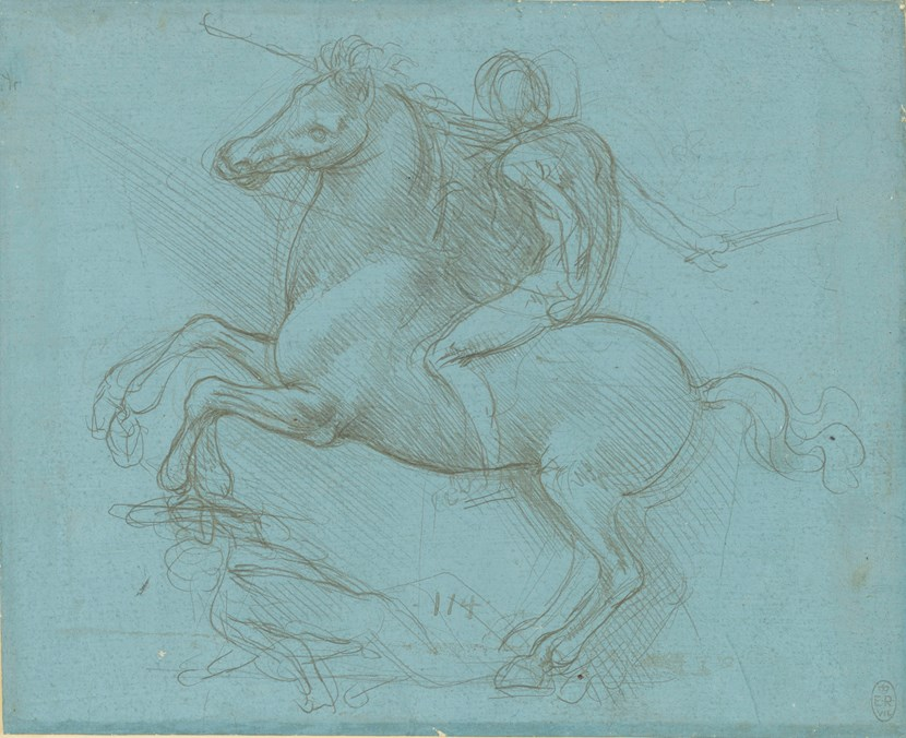 Drawings by Leonardo da Vinci from the Royal Collection to come to Leeds in 2019 : rs734598-912358r-hpr2.jpg