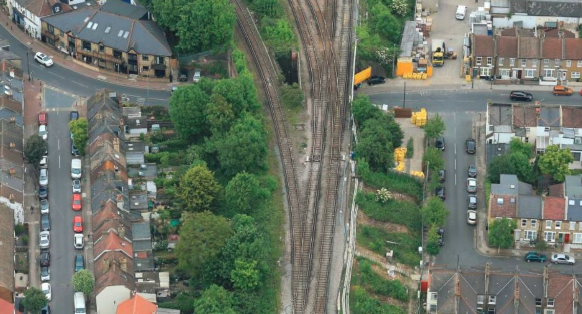 Work underway to stabilise Streatham railway embankment as part of £300m investment programme: streathamembankment