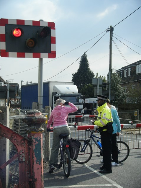 Billingshurst Level Crossing Awareness Day