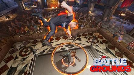 WWE2K BG Gronkster VS R-Truth-2