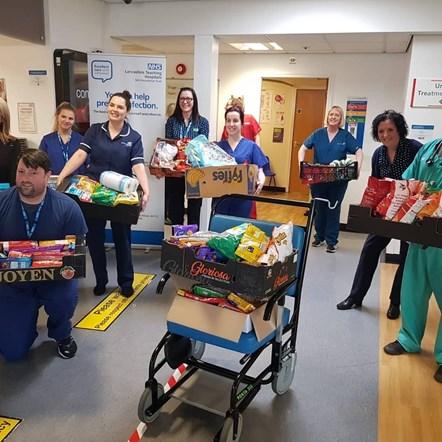 Food for Royal Preston Hospital