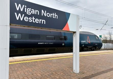 Avanti West Coast Wigan North Western 1
