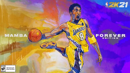 NBA 2K21 - Kobe Bryant Mamba Forever Edition Current-Gen Cover Horizontal