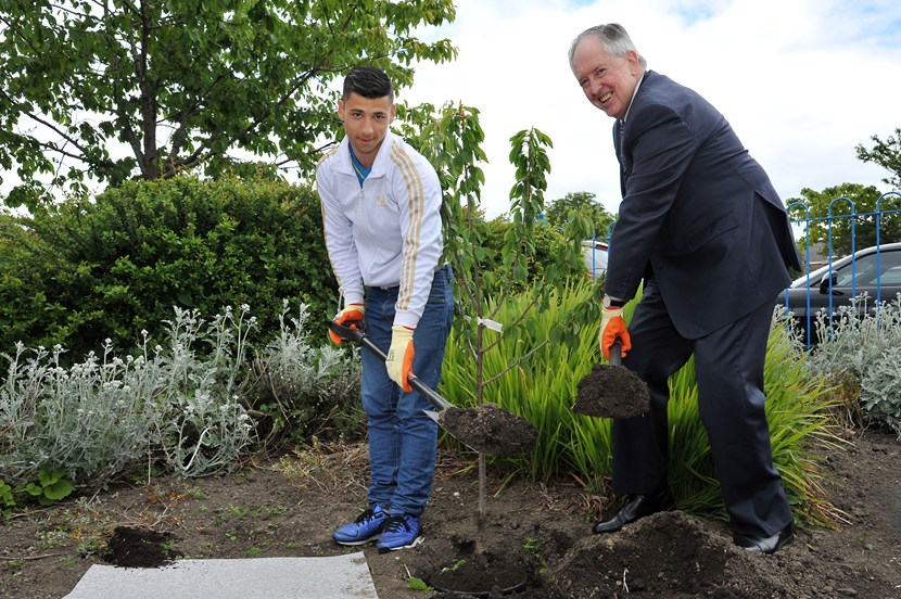 New centre to help young offenders get back on track: yjcopeningwithlordmcnally.jpg
