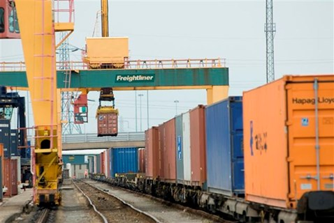 Freight directly contributes £870m to the nation's economy every year