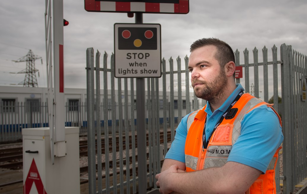 Life-saving interventions on South East rail network rise by 32% in one year - video case study: Samaritans training - Ben West, from Network Rail Sussex