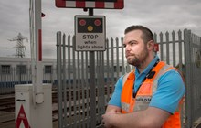 Samaritans training - Ben West, from Network Rail Sussex: Samaritans training - Ben West, from Network Rail Sussex