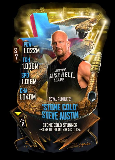 WWE SuperCard Stone Cold Steve Austin Texas