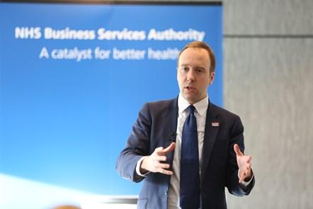 Matt Hancock visits the NHS Business Services Authority: Matt Hancock