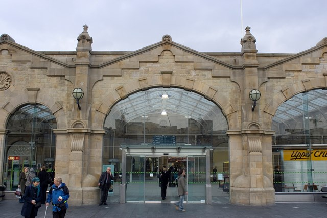 Sheffield Station: The newly restored Sheffield Station