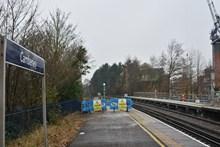 Camberley Station Platform Extensions, December 2016 (1)