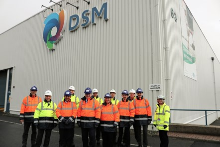 Scottish Energy Minister visits the DSM Dalry Site to discuss recent investments in energy efficiency and decarbonisation projects: Mr Wheelhouse visits DSM
