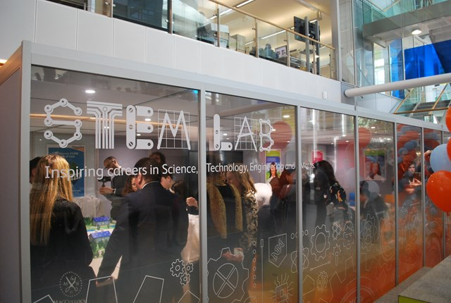 Network Rail's STEM lab opened today at the Quadrant:MK