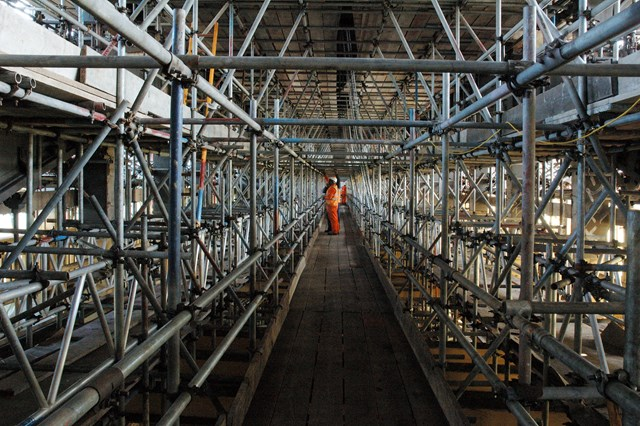 Inside the scaffold: Project ended May 2008