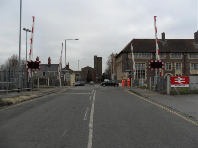 Railway upgrade work set to take place in Avonmouth: Avonmouth Level Crossing