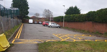 Heswall station car park